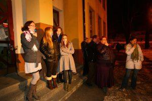 16 dní aktivizmu proti násiliu páchanému na ženách. Groteska café, Poprad.